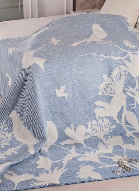Dekoreko Çift Kişilik Battaniye Renkli